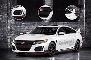 2019 Honda Accord Type R   Top Speed