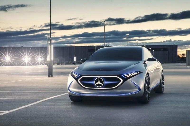 2017 Mercedes-Benz Concept EQA High Resolution Exterior Wallpaper quality - image 730879