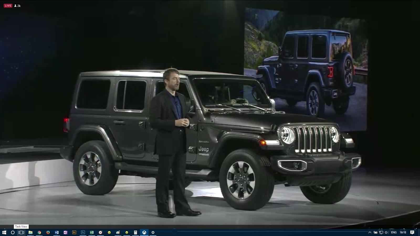 The New Jeep Wrangler JL Has Made Its LA Debut Top