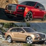 Comparison 2018 Bentley Bentayga Vs 2019 Rolls Royce Cullinan Top Speed