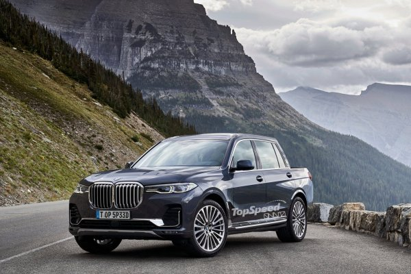 BMW X7 Pickup Could Be BMW's Answer To The Mercedes X ...
