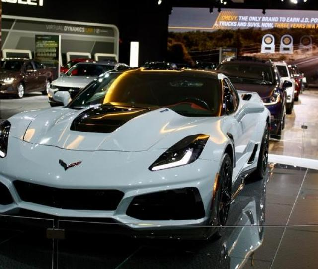 Its Booth At The 2018 Los Angeles Auto Show Says It All