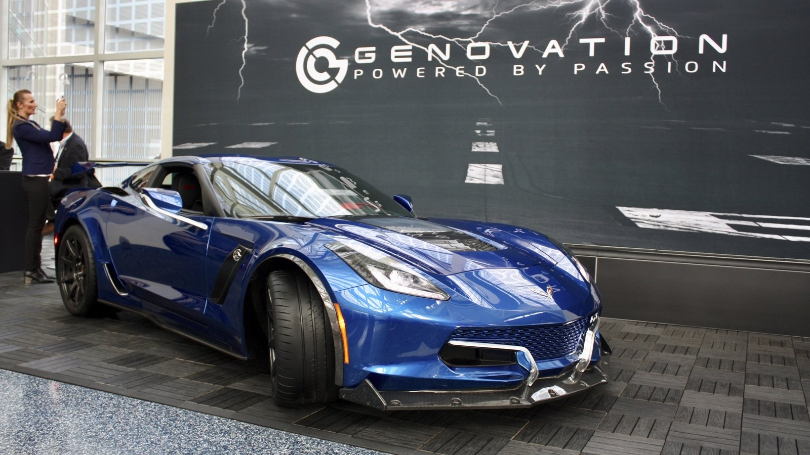 2019 Genovation Gxe Electric Chevy Corvette Top Speed
