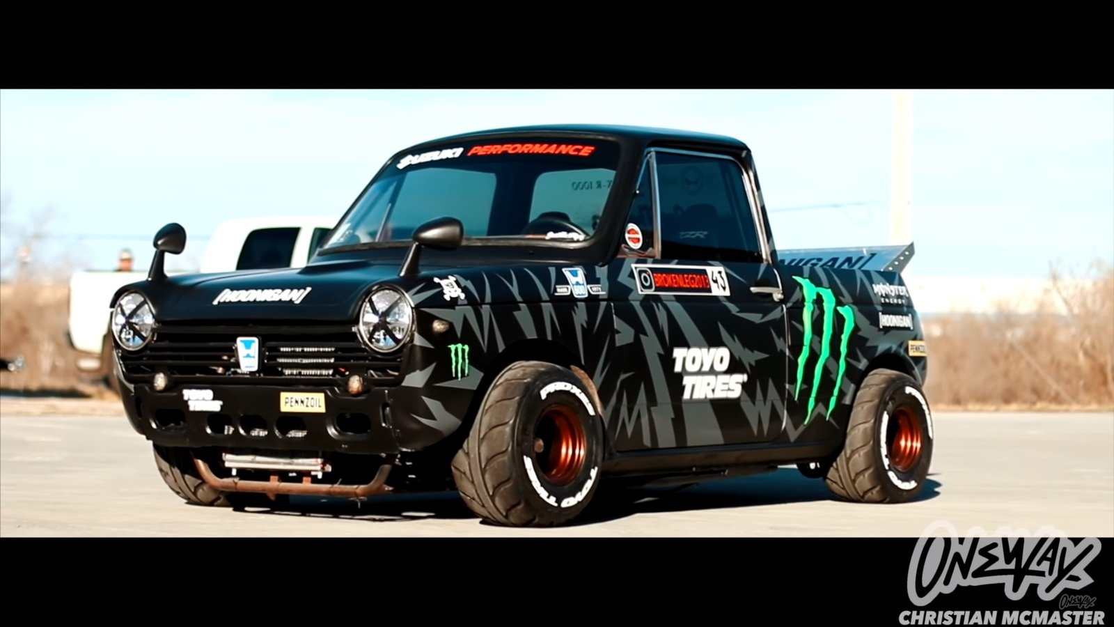Check Out This Gixxer Swapped Honda N600 Hoonitruck
