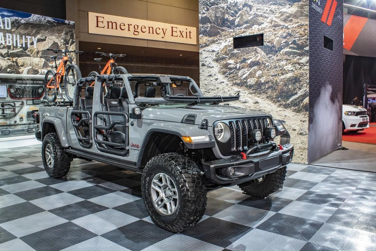 2019 Jeep Gladiator By Katzkin Leather Top Speed
