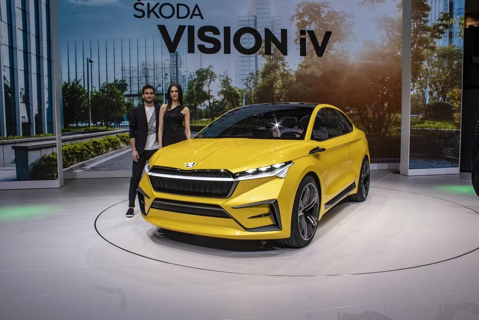2019 Skoda Vision Iv Concept Top Speed