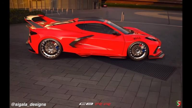 Sigala Designs Is Currently Designing a Widebody Kit for the 2020 Chevy C8 Corvette - image 912235