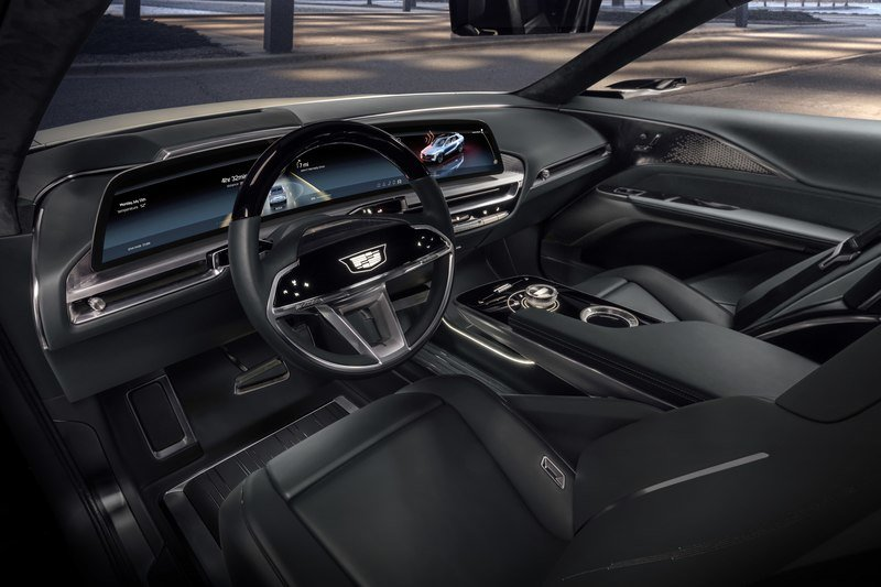 2023 Cadillac Lyriq EV – Futuristic Styling and Tech That Won't Make It To Production Interior - image 927122