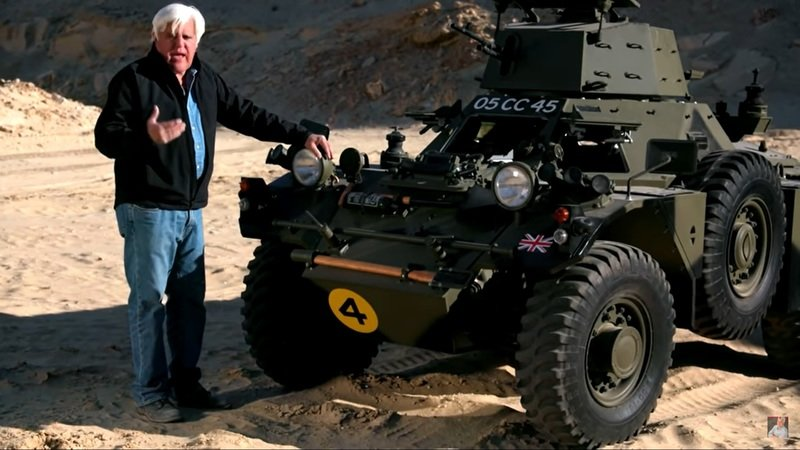 Jay Leno Says The 1959 Ferret Armoured Scout Drives Like a Car - image 961927