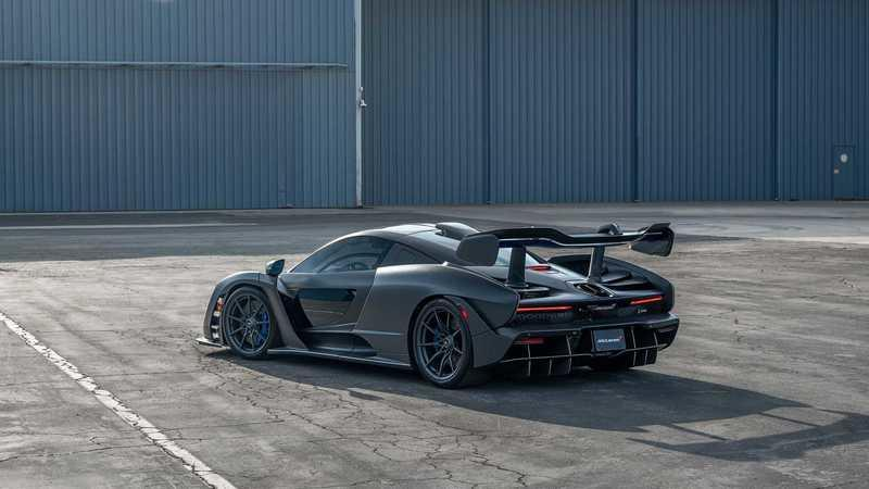This McLaren Senna With $360K In Options Is Heading to Auction Exterior - image 961967