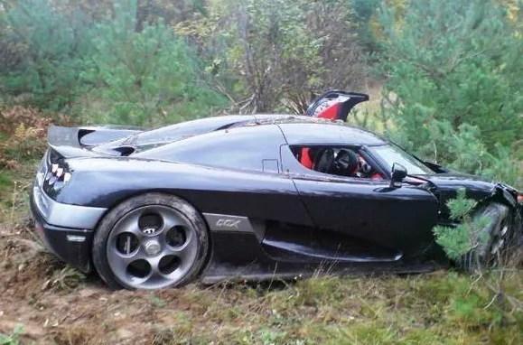 Koenigsegg Ccx Crashed Top Speed