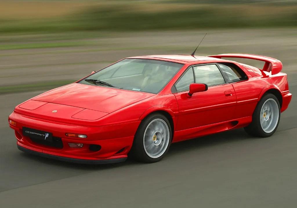 1974 2002 Lotus Esprit Top Speed