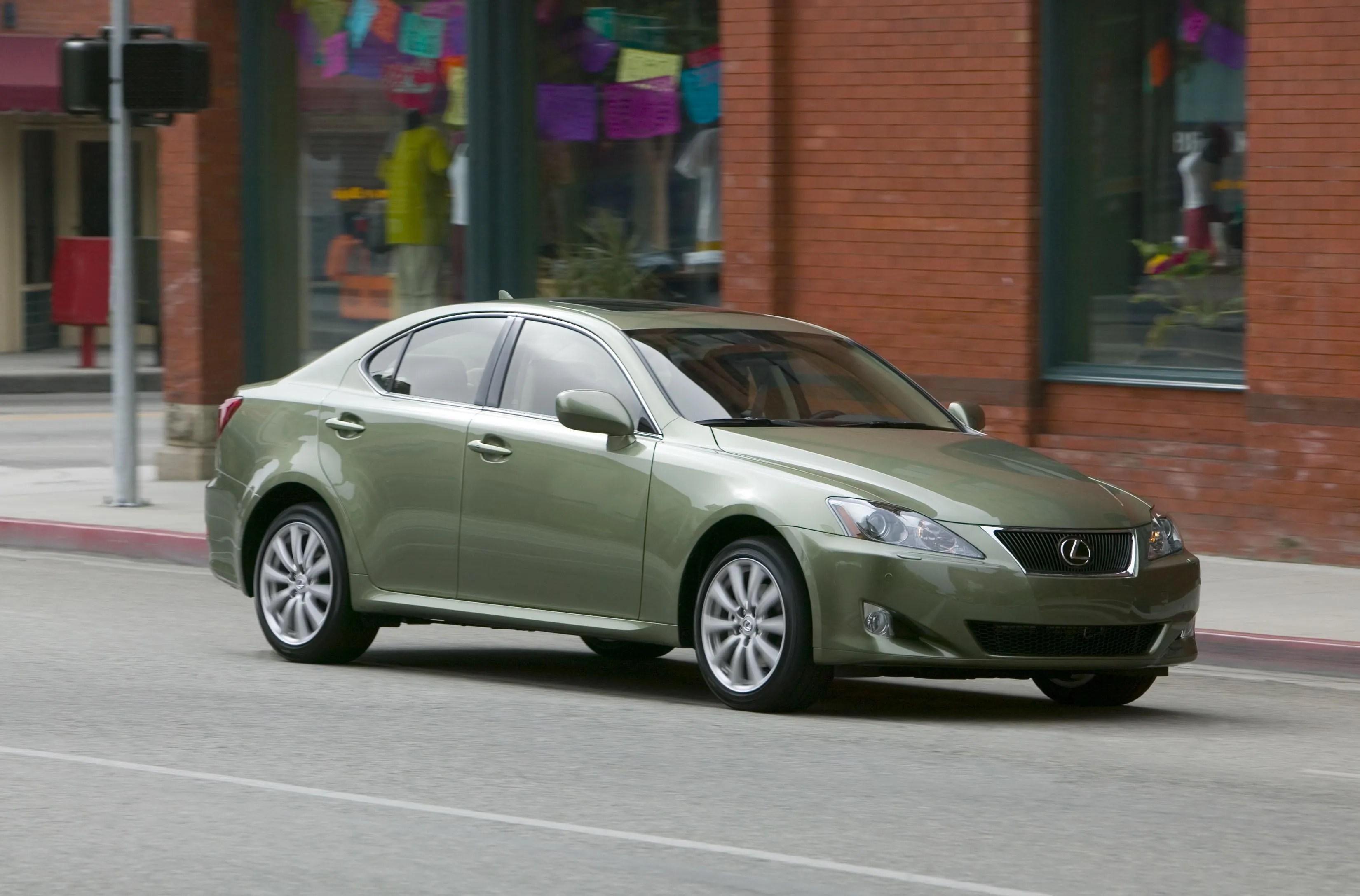 2007 Lexus IS 250 Review Top Speed