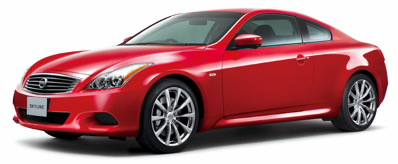 2008 Nissan Skyline Coupe Top Speed