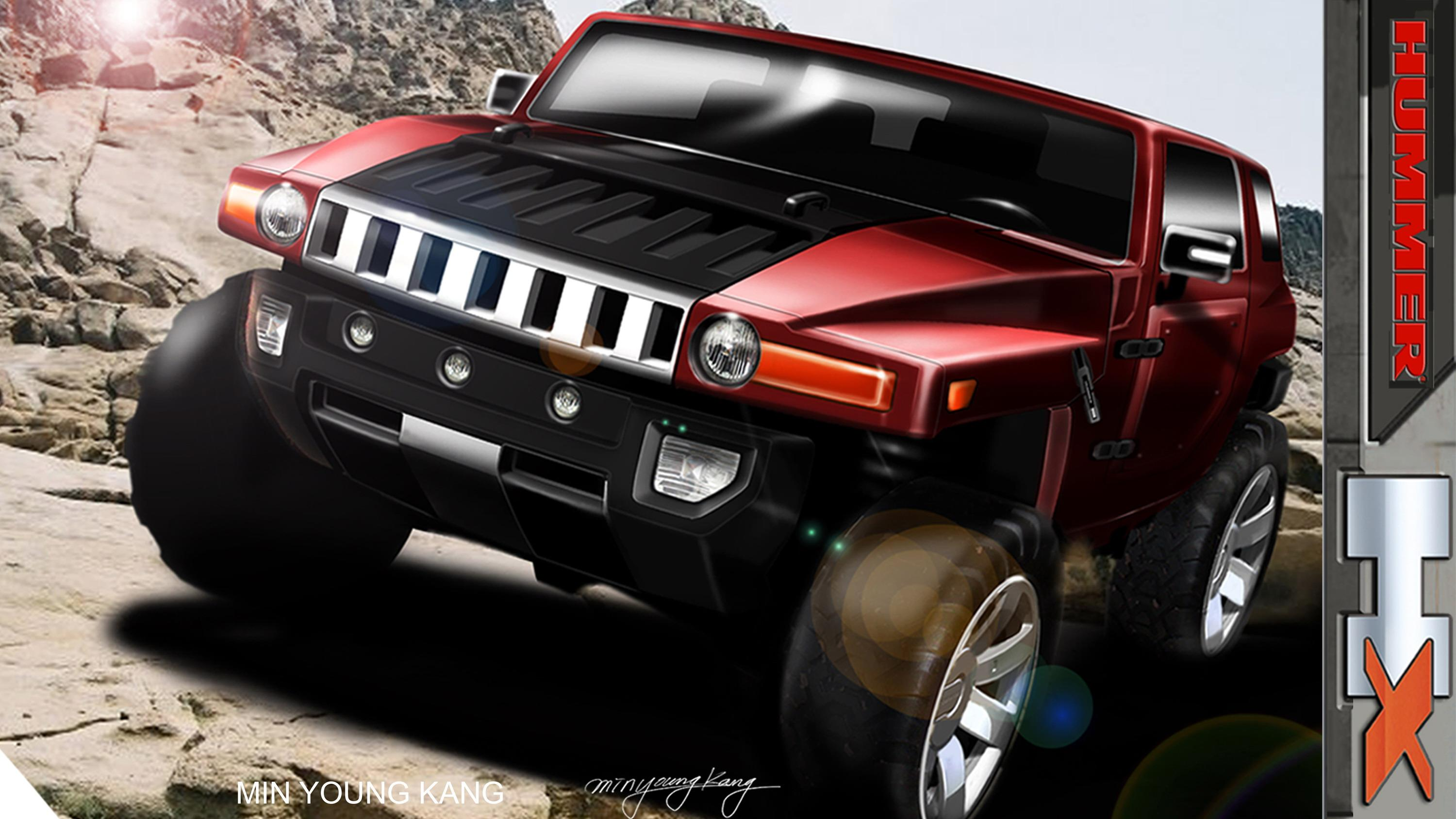 HUMMER HX Concept To Be Unveiled At 2008 Detroit Auto Show News