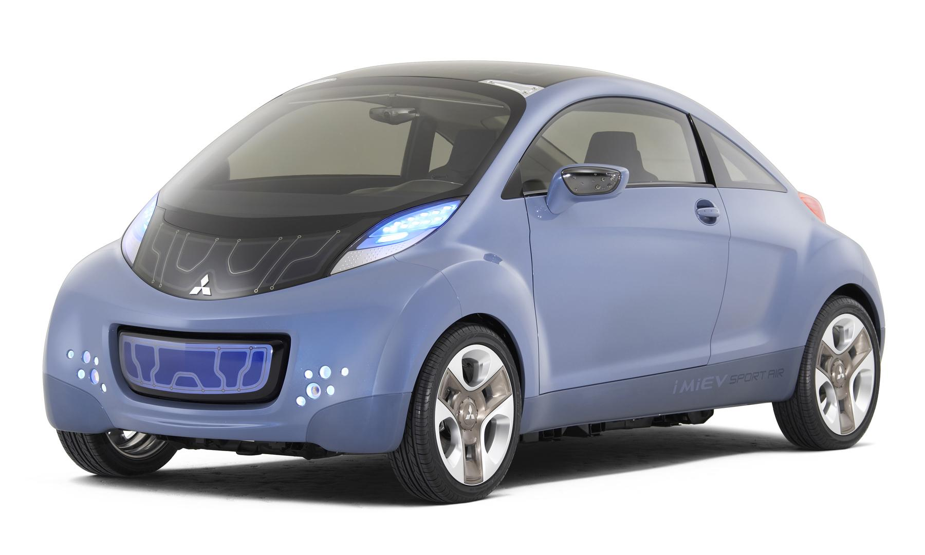 2009 Mitsubishi I Miev Sport Air Top Speed