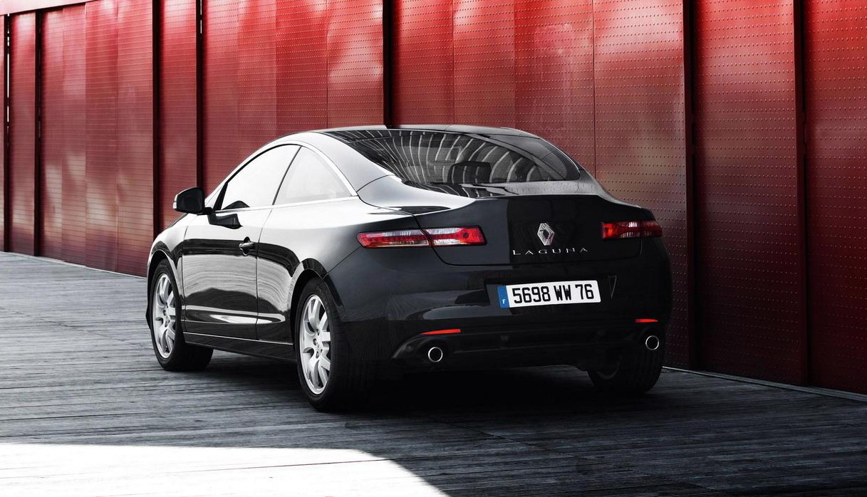 2009 Renault Laguna Coupe Black Edition Top Speed
