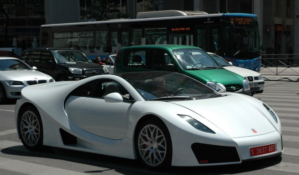 GTA Spano On The Streets Of Madrid Top Speed