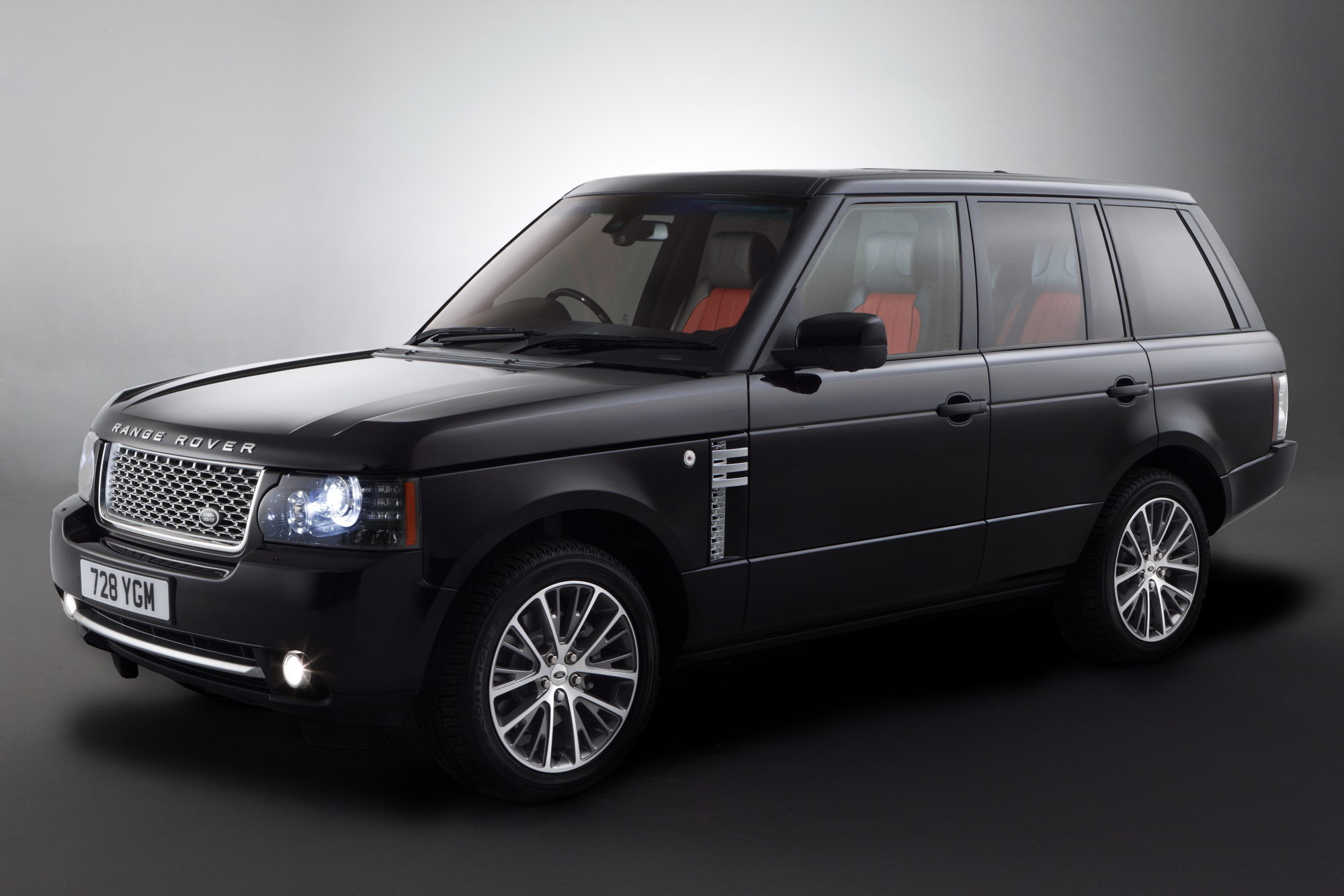 2010 Range Rover Autobiography Black Limited Edition Review Top