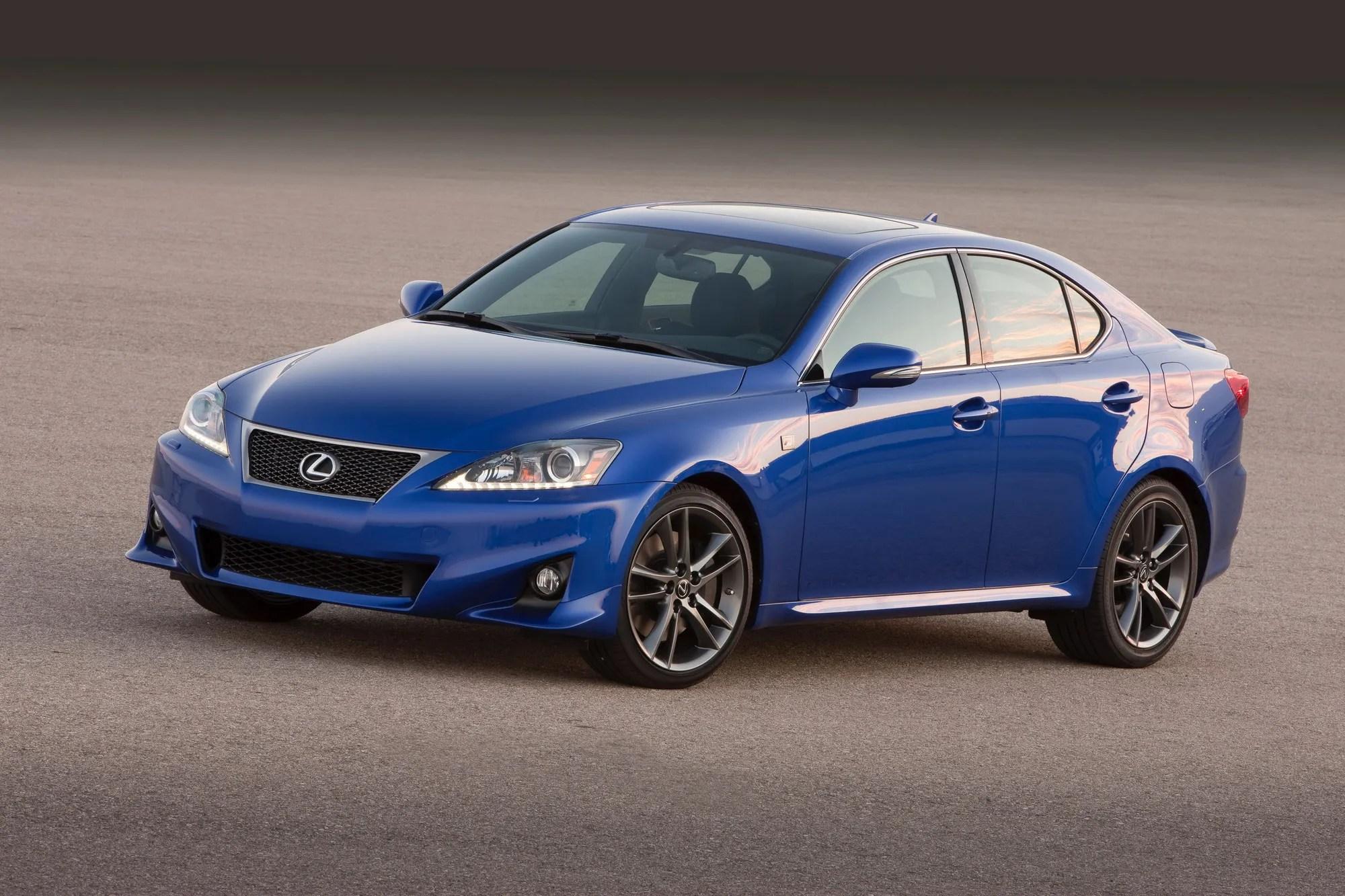 2011 Lexus IS Review Top Speed