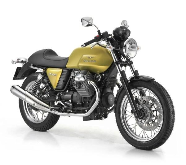 2012 Moto Guzzi V7 Cafe Classic   Top Speed