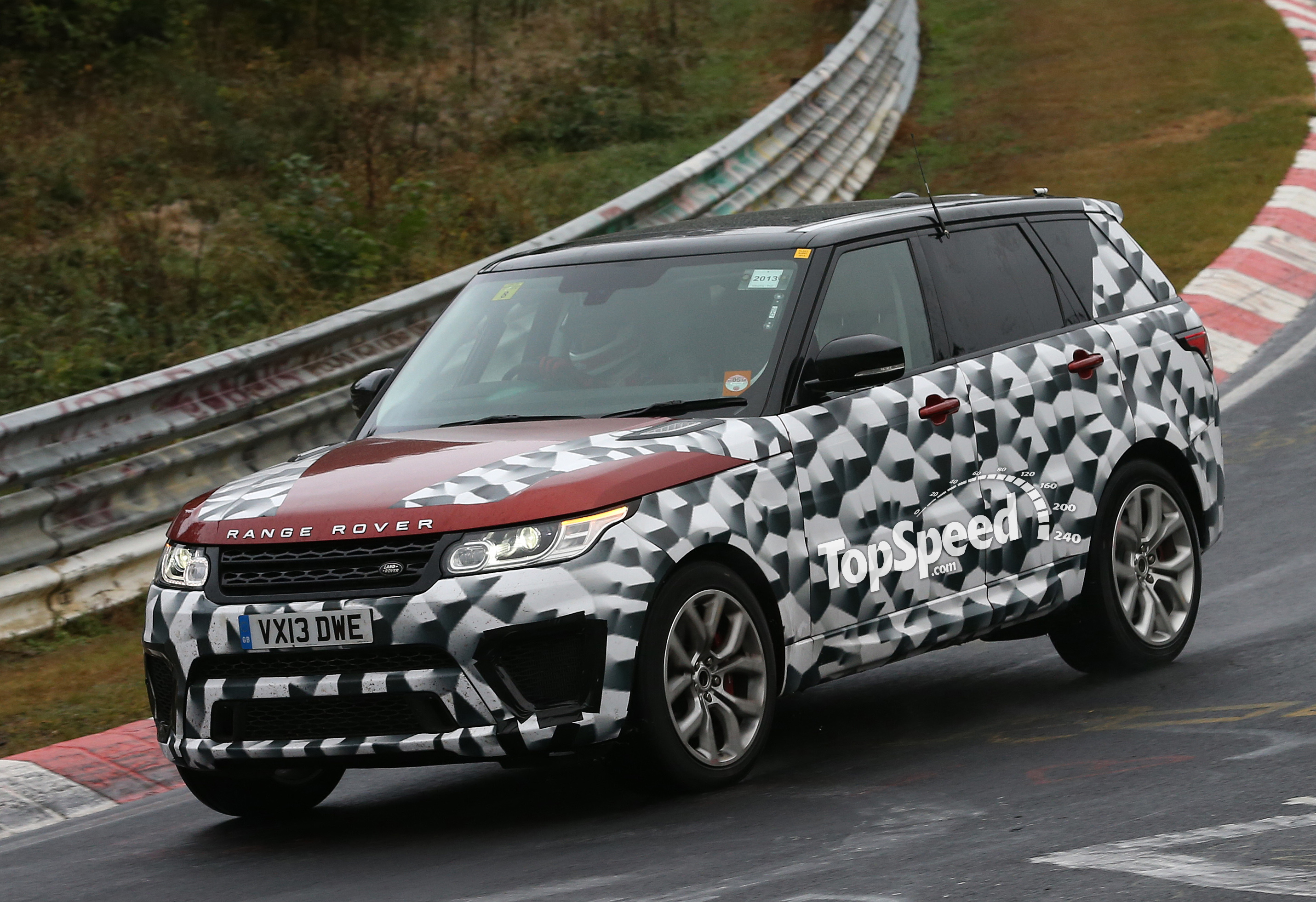 2015 Land Rover Range Rover Sport SVR Review Top Speed