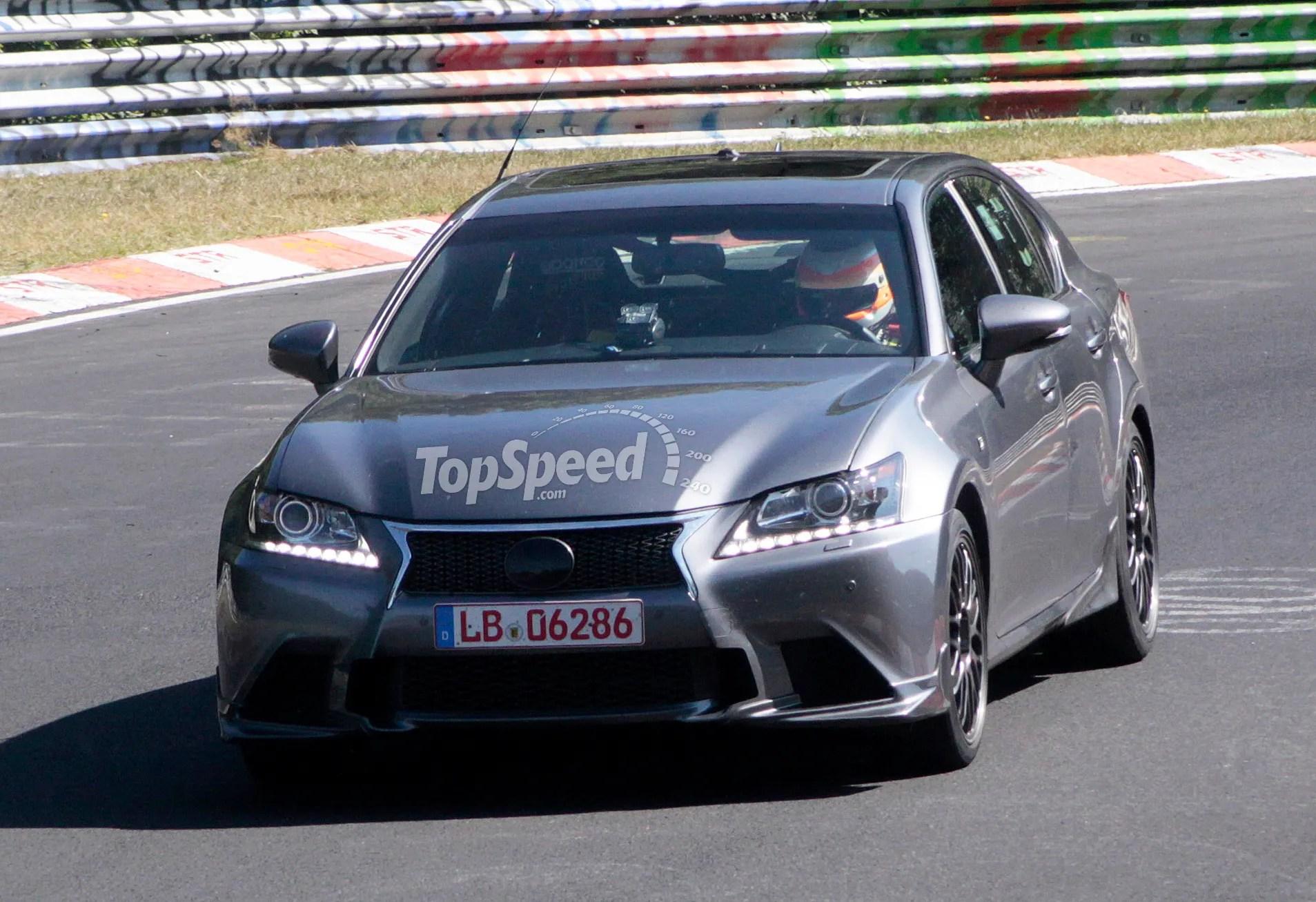 2016 Lexus GS F Review Top Speed