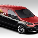 Vandemonium Hits Fever Pitch With 10 Customized Ford Transit Connect Vehicles Top Speed