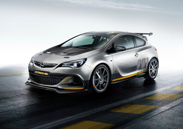 2014 Opel Astra OPC EXTREME | Top Speed