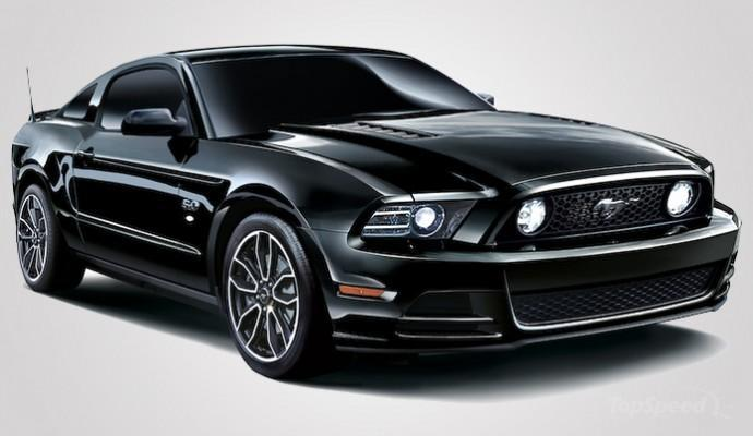 2014 Ford Mustang V8 GT Coupe The Black | car review @ Top Speed