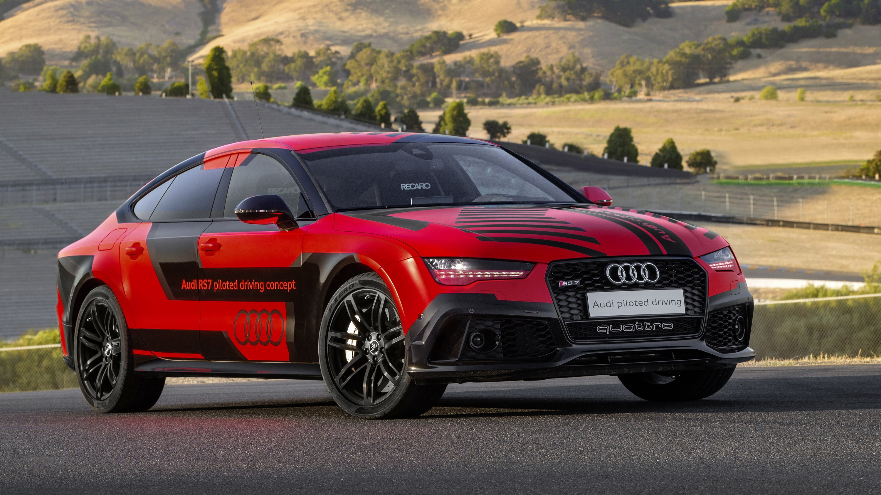 2015 Audi Rs 7 Quot Robby Quot Piloted Driving Concept Review