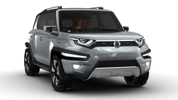 2015 ssangyong xav-adventure concept | top speed