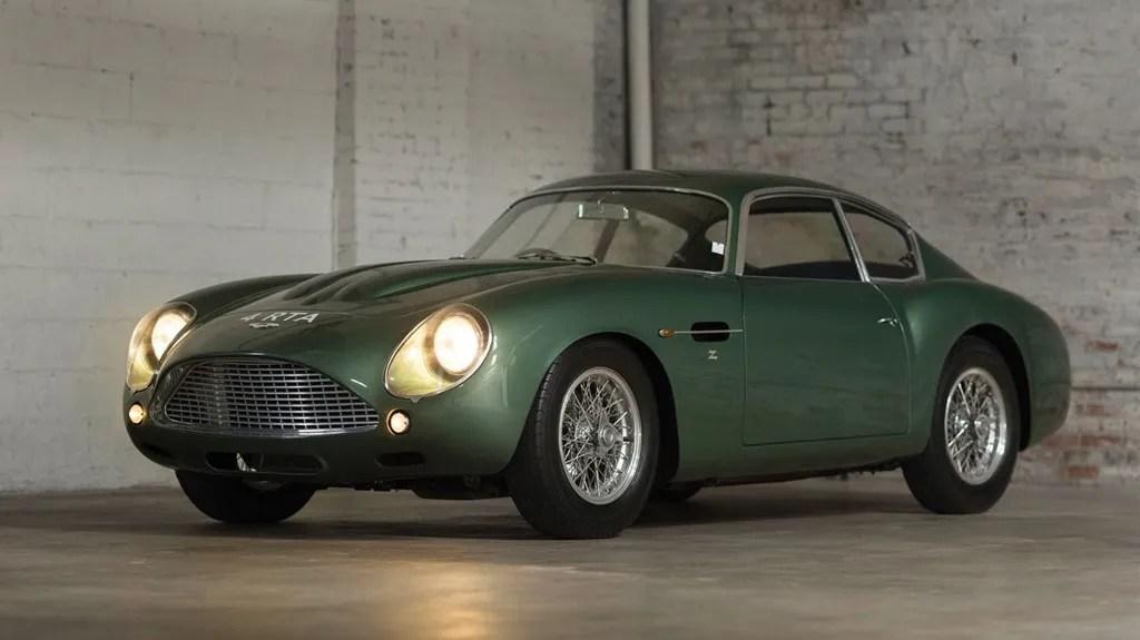 1962 Aston Martin DB4GT Zagato coupe- autohage.com