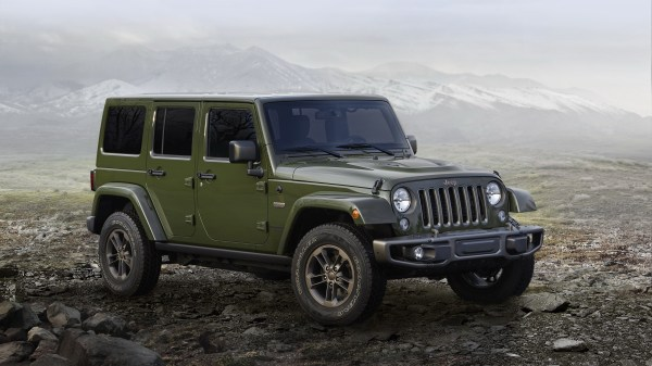 2016 Jeep Wrangler 75th Anniversary Edition | Top Speed