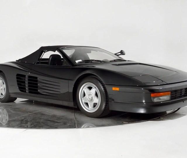 Custom Built Ferrari Testarossa Convertible Has A History With The King Of Pop Top Speed