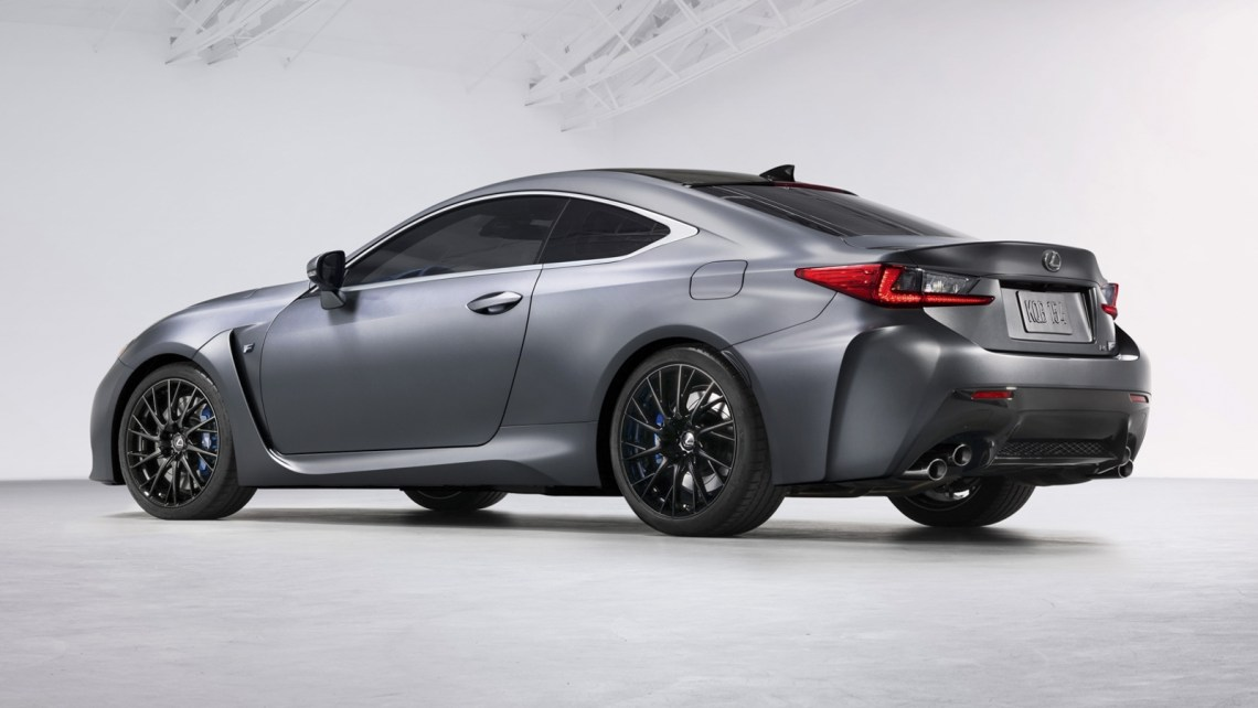 2018 lexus rc f 10th anniversary special edition review - top speed