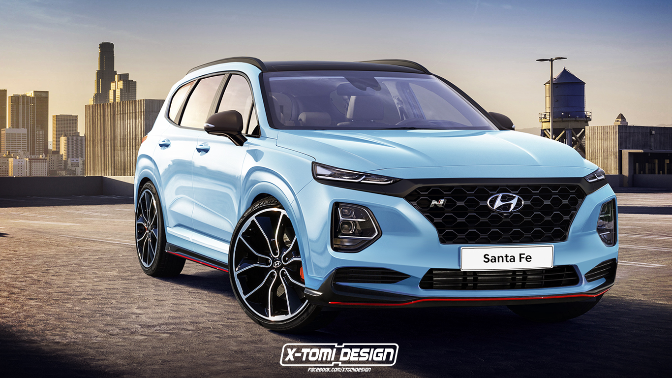 There are few options, only the single engine choice, but there's a lot of tech, a lot of refinement and a. Rendered: 2019 Hyundai Santa Fe N - Will Hyundai Go All In