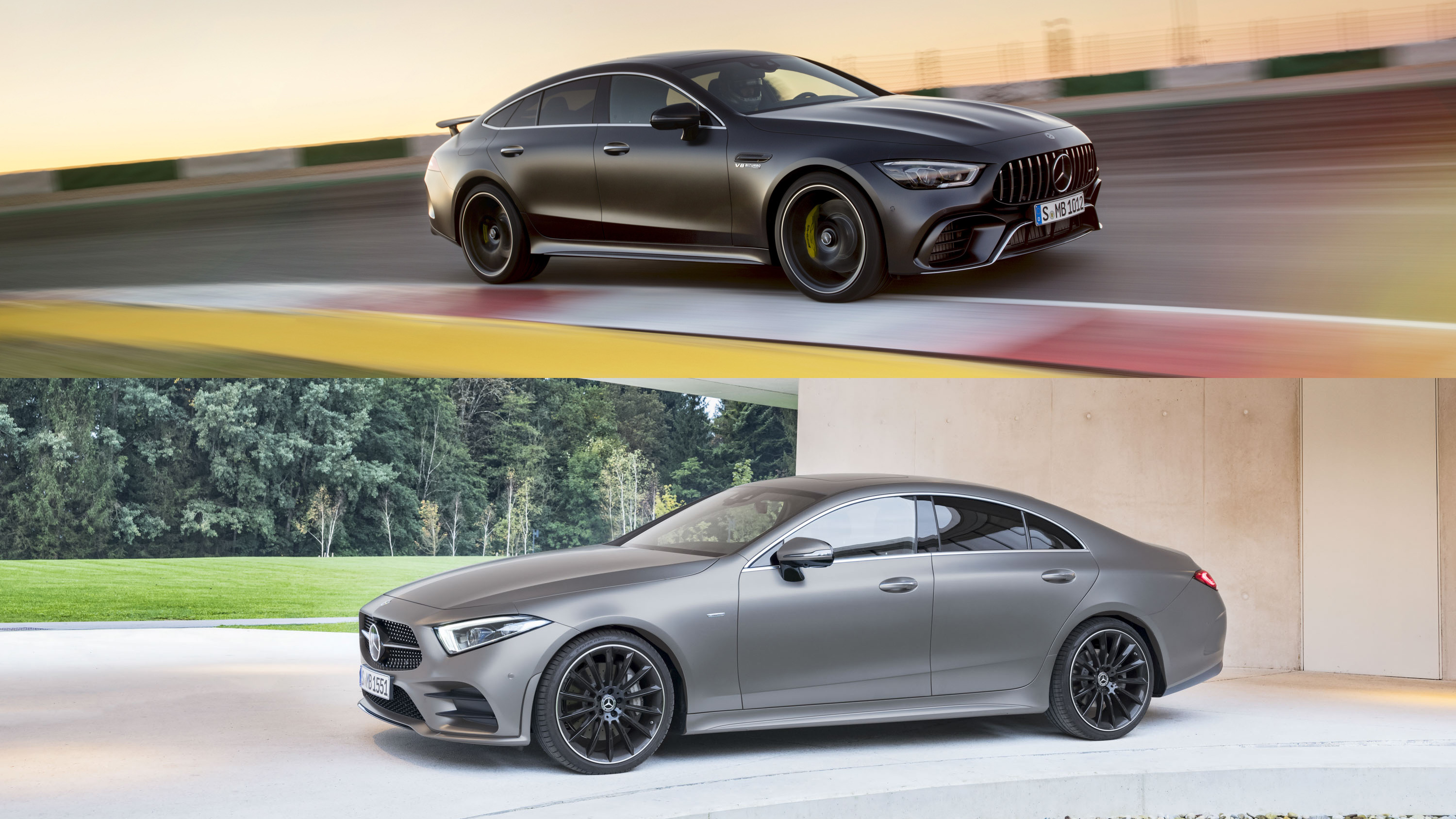 mercedes amg gt 4 door coupe vs mercedes cls here s what sets them apart