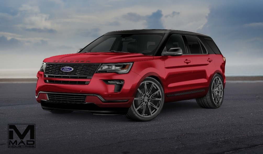 2018 ford explorer sport by mad