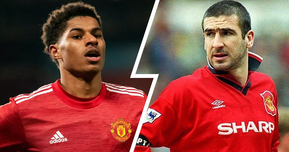 Eric daniel pierre cantona is a former french international football player who used to feature prominently during the 1980s and 1990s. Rashford Equals Impressive Eric Cantona Record After Liverpool Heroics