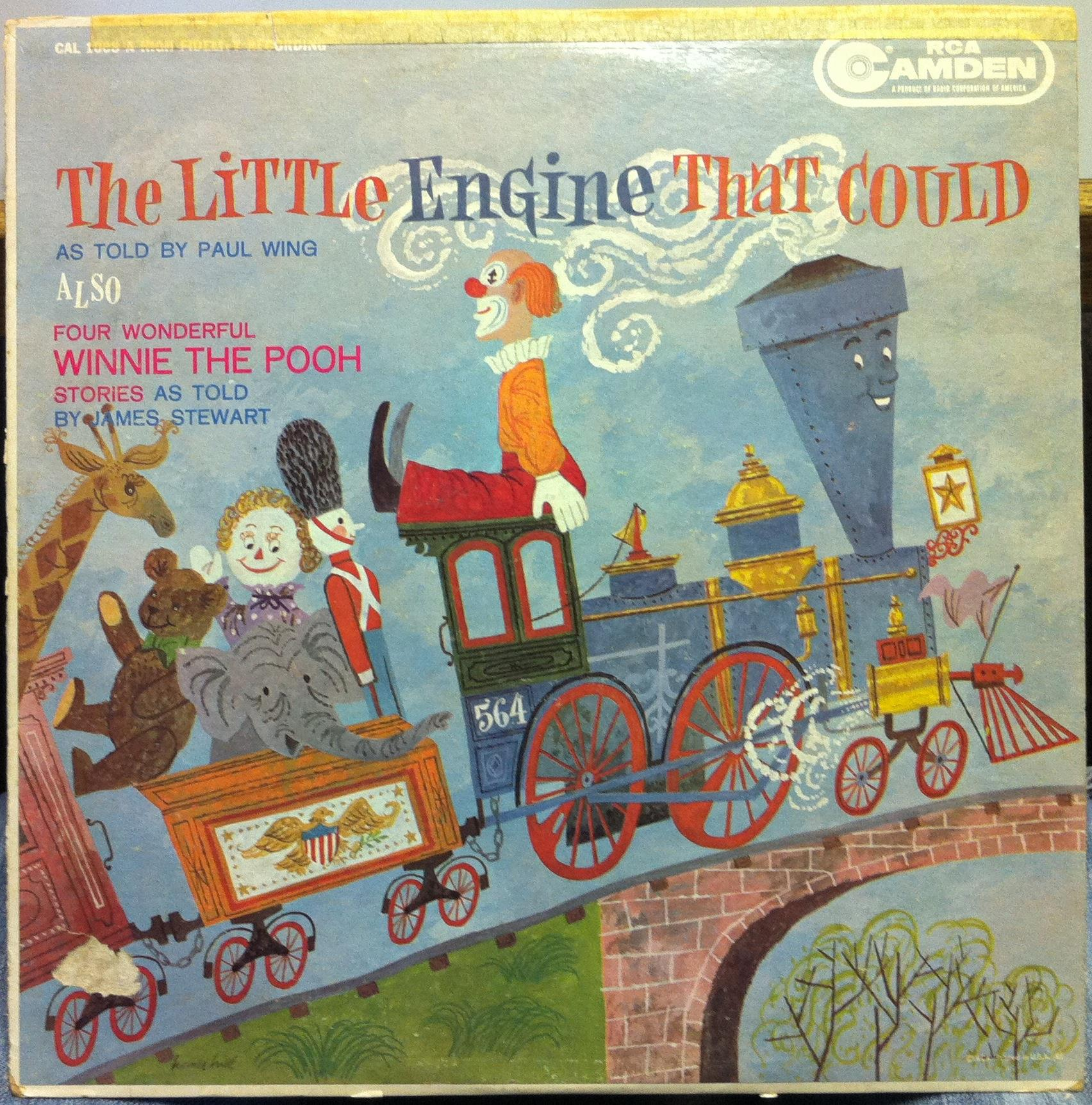 Paul Wing Amp James Stewart Little Engine That Could Lp Vg