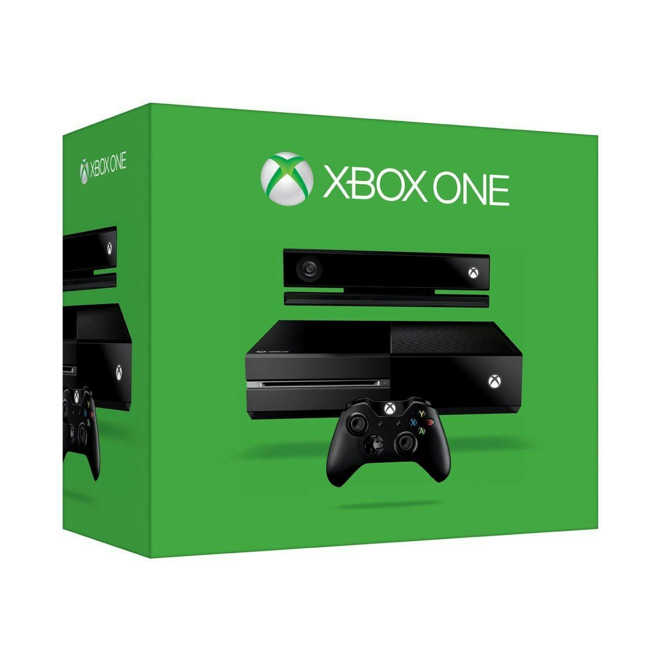 Microsoft Xbox One 500GB Console With Kinect Black EBay