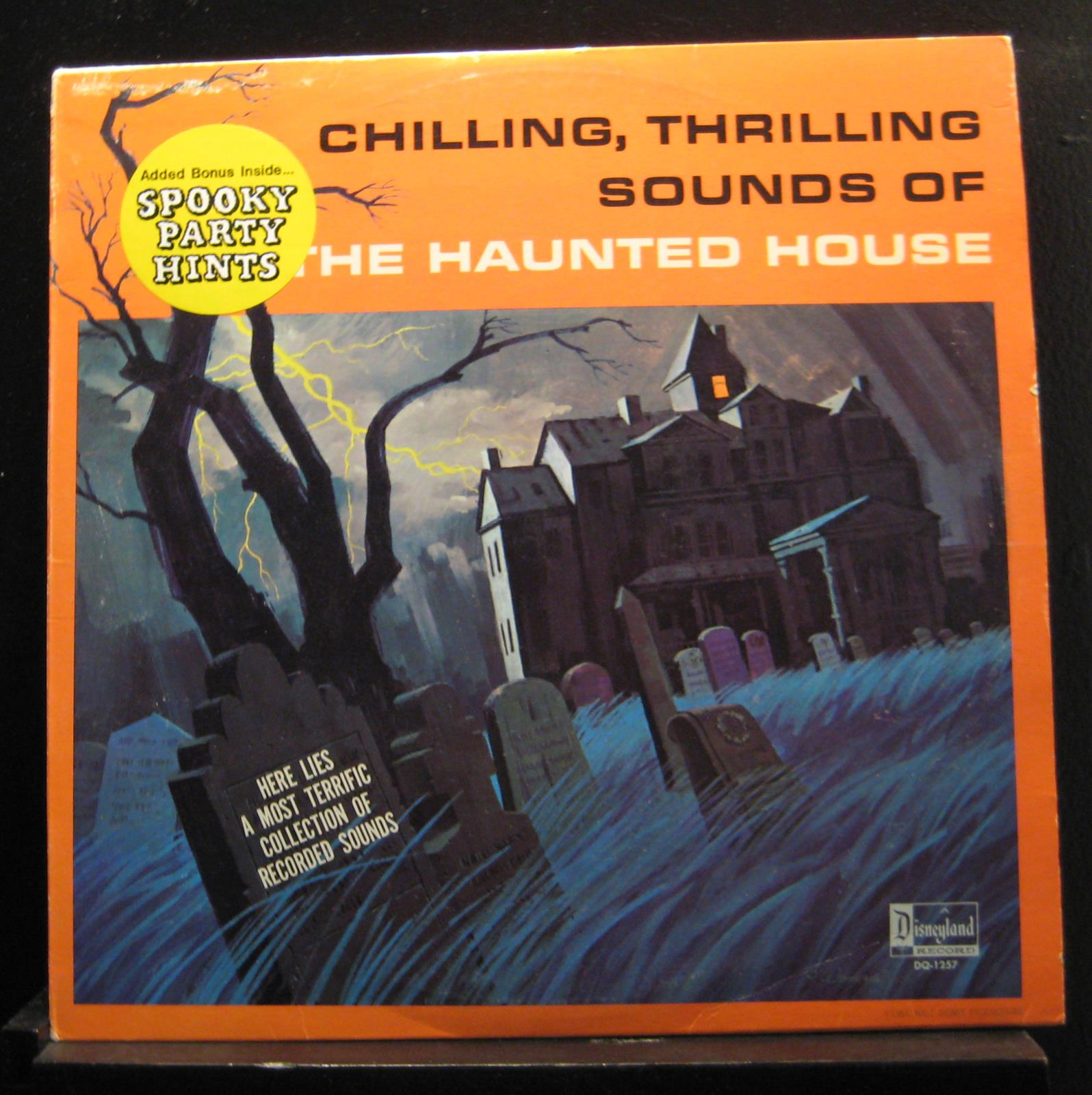 Chilling Thrilling Sounds Of The Haunted House Lp Vg Dq