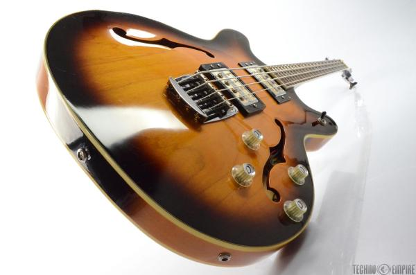 DeARMOND Starfire Semi-Hollow Body Electric Bass Guitar w ...