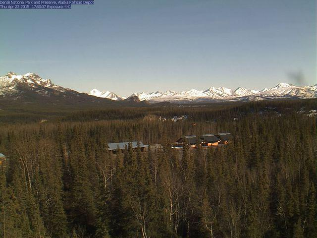 Denali Visitor Center Webcam image