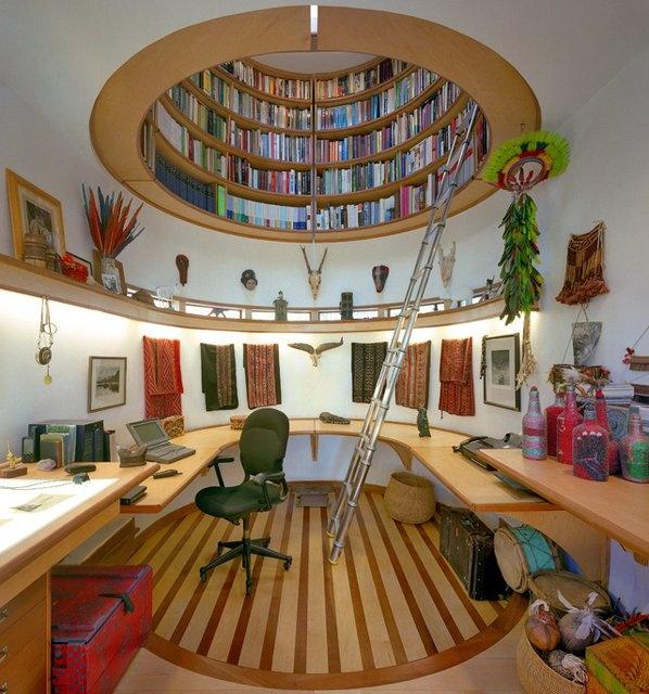 bookcase loft
