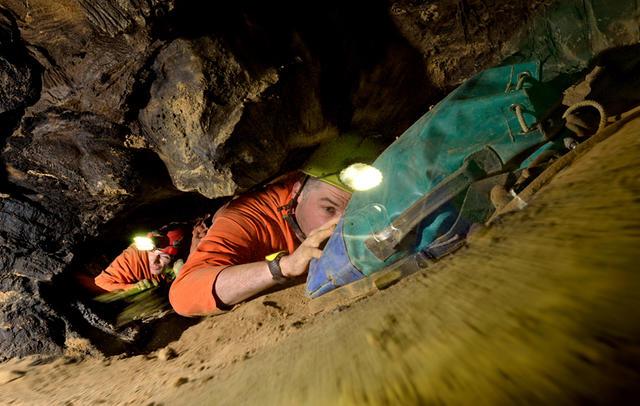 cramped cave