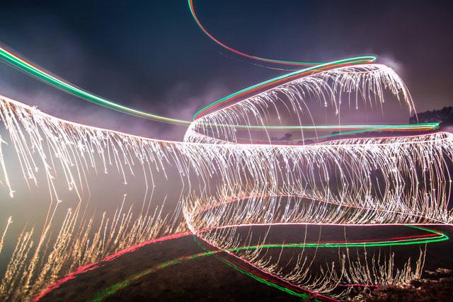 Drone Fireworks 2