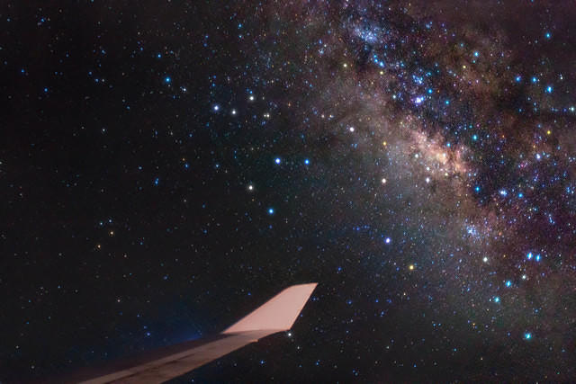 Milky Way wing