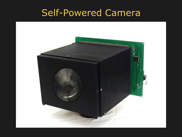 self powered camera